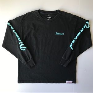 Diamond Supply Co. Long Sleeve Shirt {B6}